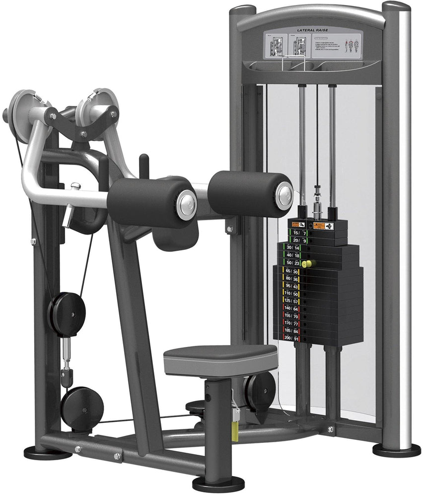 GymGear Elite Series Lateral Raise Selectorised Station