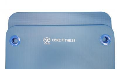 Fitness Mad Core Fitness Mat 10mm Eyelets - Black