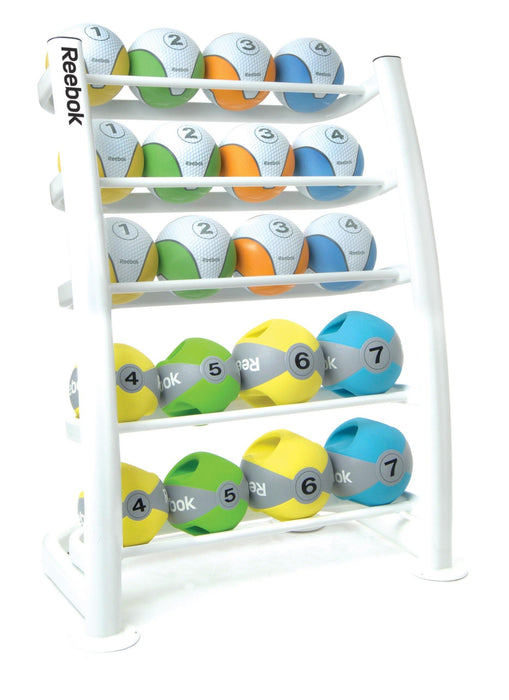 Medicine Ball Rack (20 Ball White)