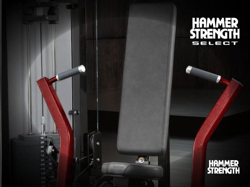 Hammer Strength Select SE Full Seated Leg Curl