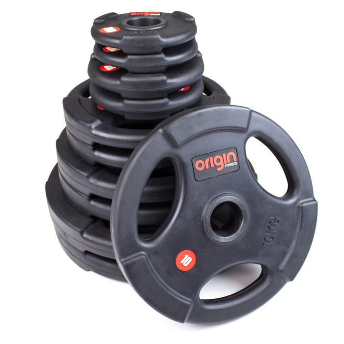 Origin Rubber Olympic Weight Plates Set (up to 117.5kg)