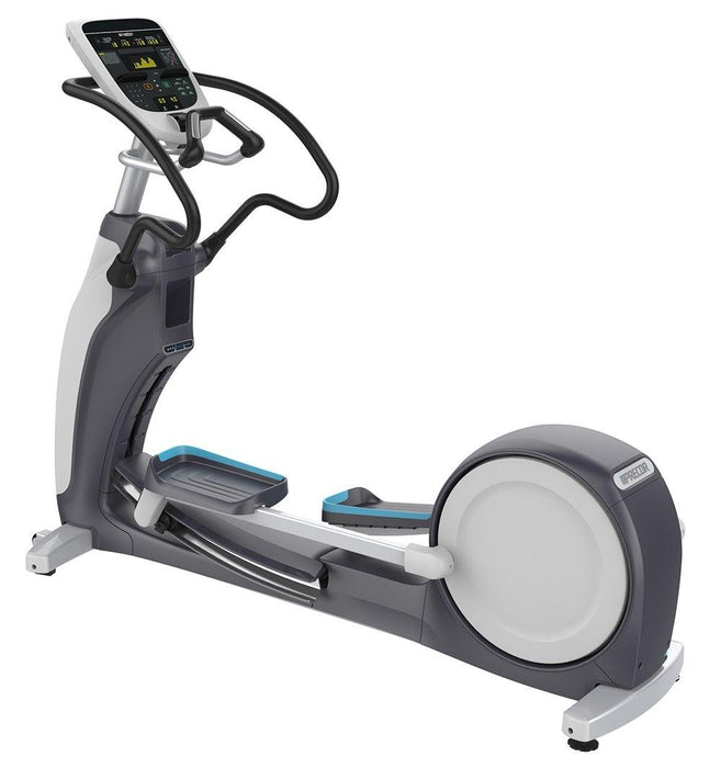 Precor EFX 833 with Converging CrossRamp Experience Series Crosstrainer
