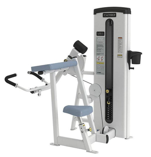 Cybex VR1 Series Arm Curl Fixed Arm Selectorised