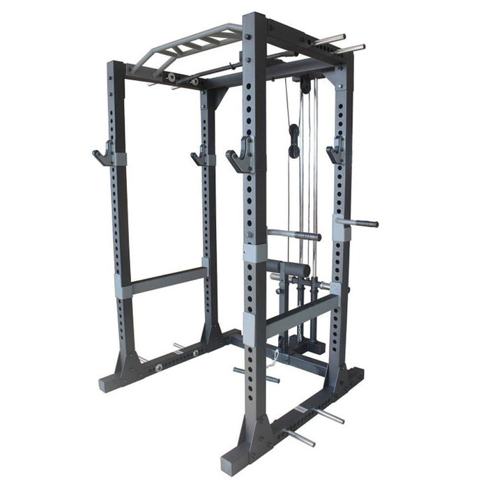 Primal Strength Stealth Commercial Full Power Rack Lat Attachment