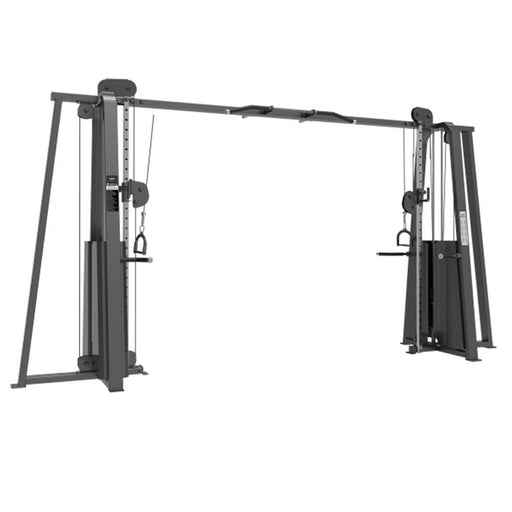 Primal Strength Commercial Cable Crossover Stack - 2 X 100  Kg - Matte Nero