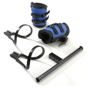 Teeter Inversion Table Adapter Kit inc Gravity Boots and CV Bar