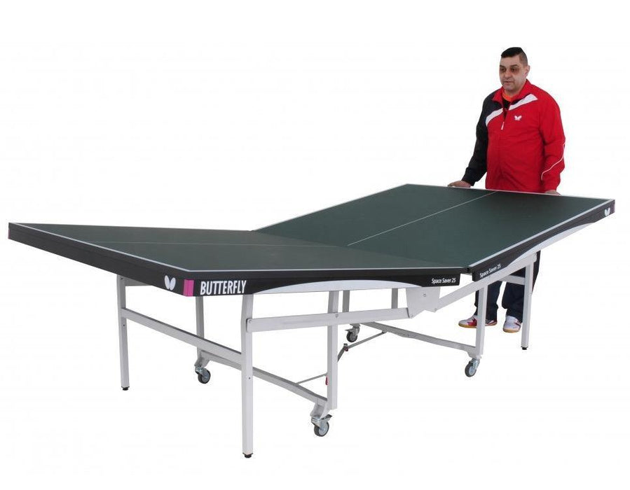Butterfly Space Saver Rollaway Table Tennis (22 or 25mm)