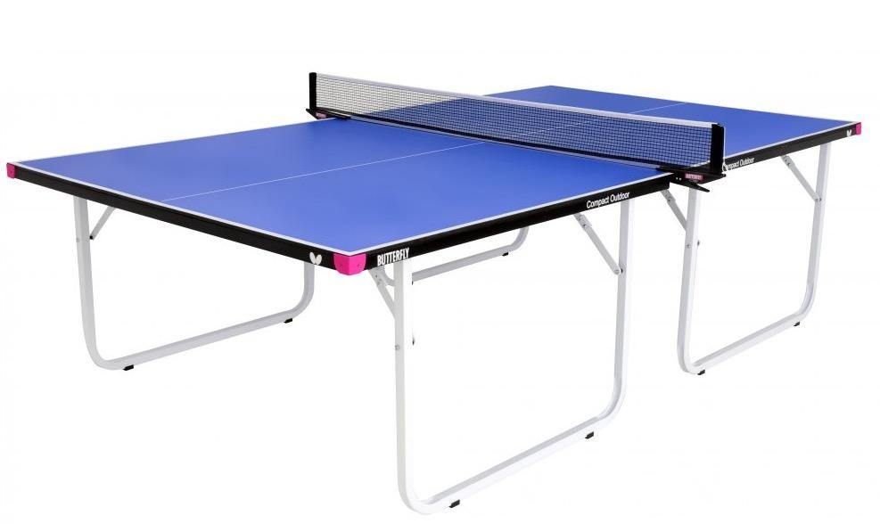 Butterfly Compact Outdoor 10 Wheelaway Table Tennis