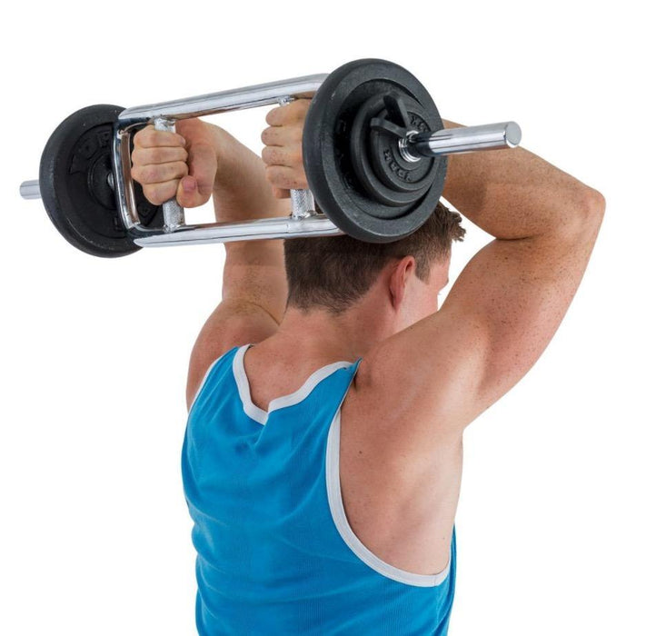 "York Fitness Standard 1"" Solid Tricep Bar"