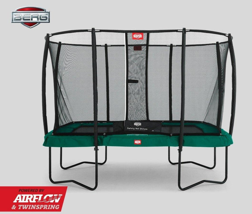 BERG Eazyfit Rectangular Trampoline and Enclosure 11ft x 7ft