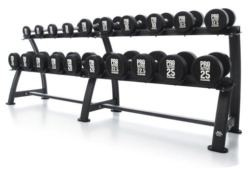 Pro-Active Dumbbell Rack with Cups - Oval Frame