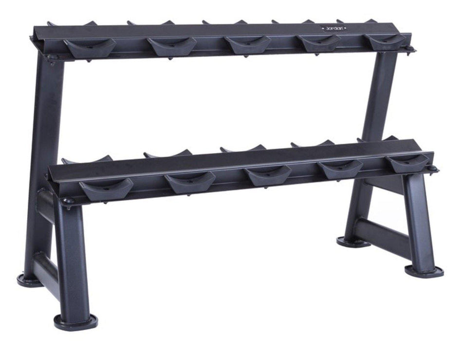 Jordan Dumbbell Rack Oval Frame (5 pair - 2 Tier)