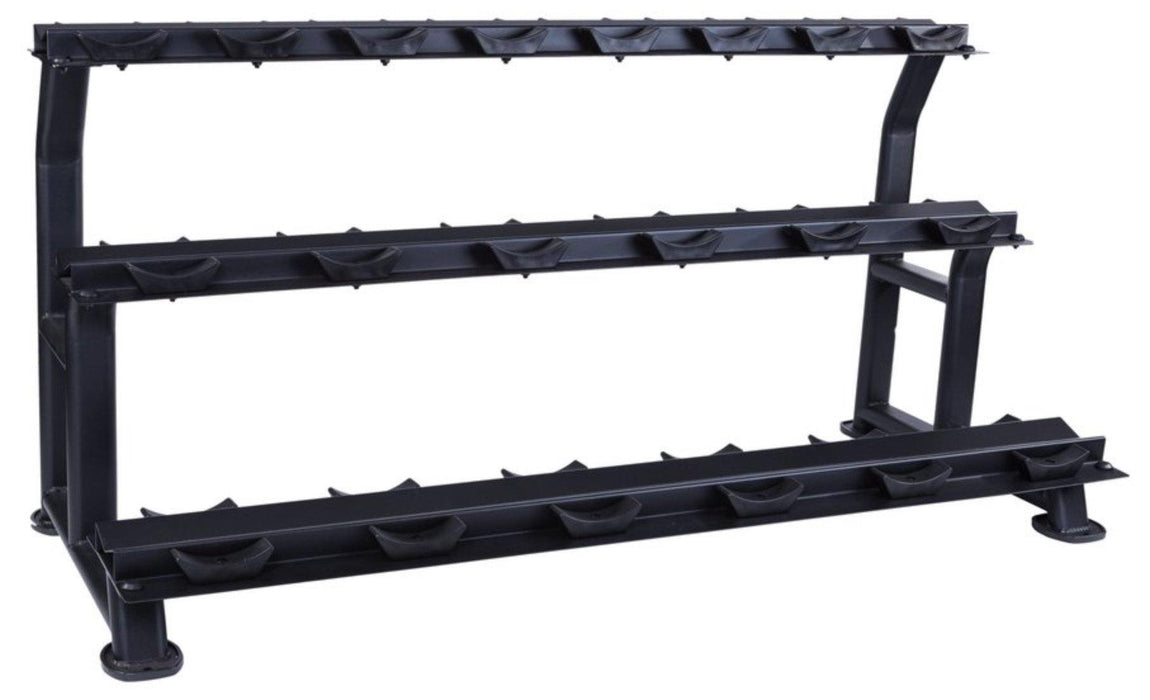 Jordan Dumbell Rack Oval Frame (10 Pair - 3 Tier)
