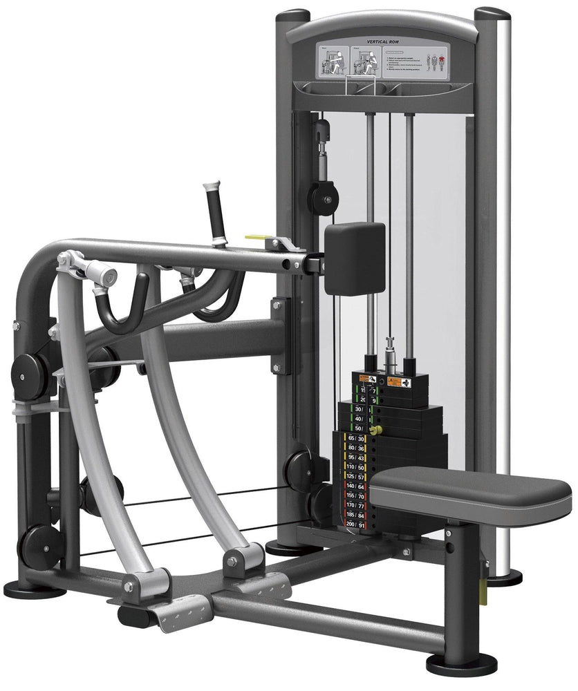 GymGear Elite Series Seated Row Selectorised Station