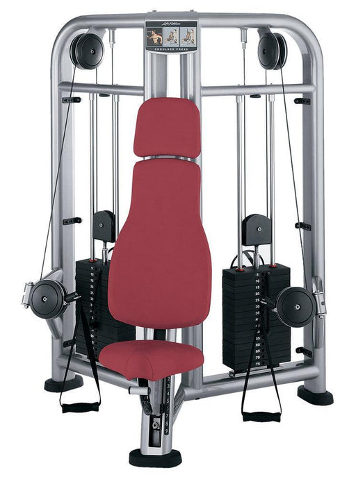 Life Fitness Signature Series Shoulder Press Cable Motion