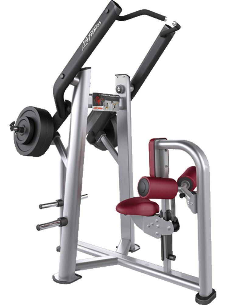 Life Fitness Signature Series Front Pulldown Plate Loaded