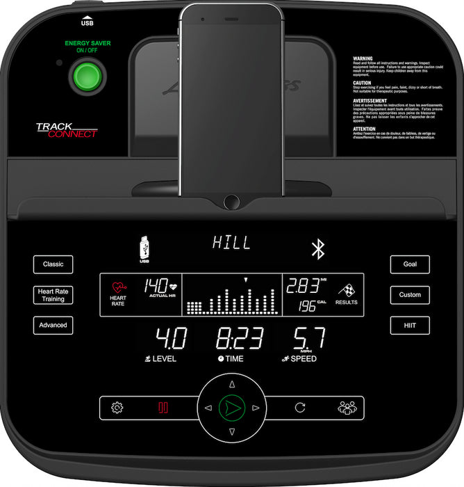 Life Fitness T3 Treadmill with Track Connect Console - FREE INSTALLATION