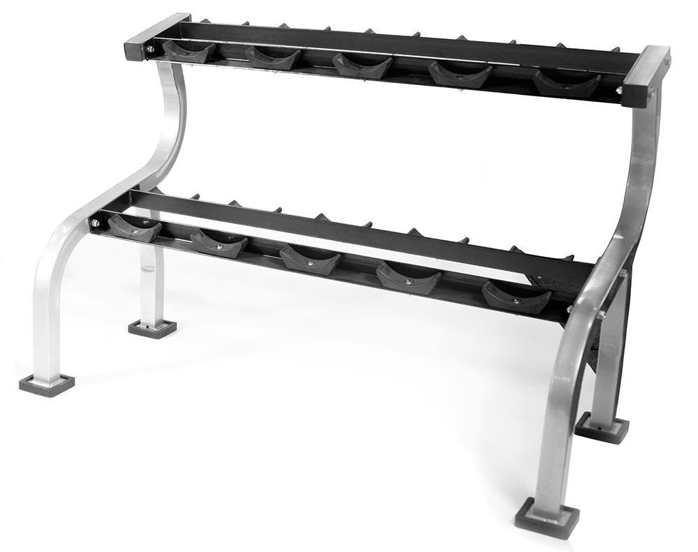 Origin 5 Pair 2 Tier Dumbbell Rack