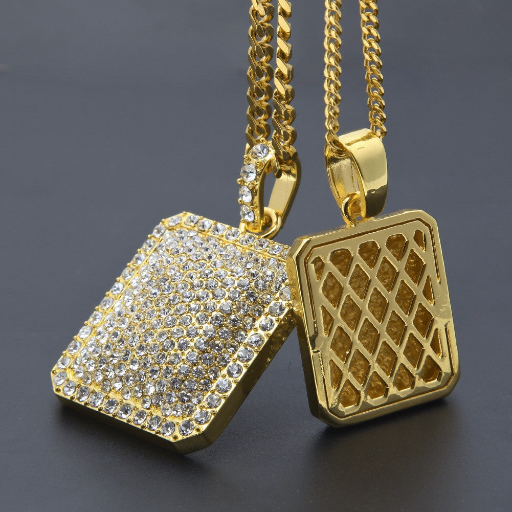Cuban Chain Dog Tag