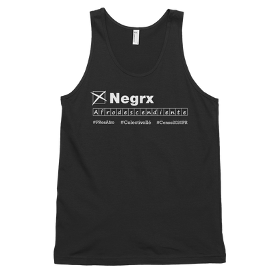 Afrodescendiente Tank Top #Censo2020PR
