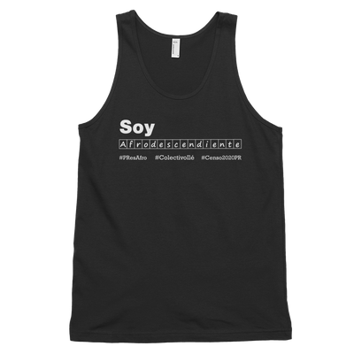 Soy Afrodescendiente Tank Top #Censo2020PR