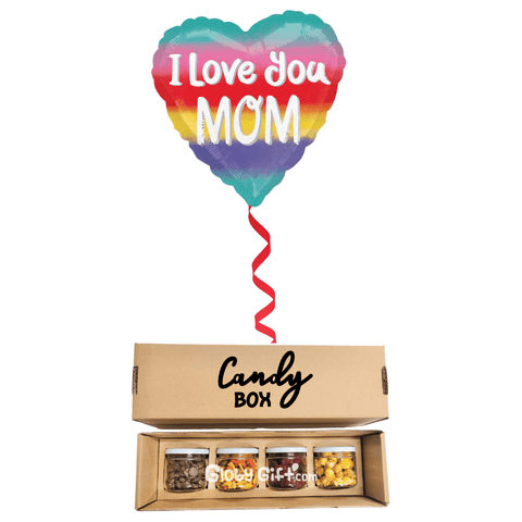 Mom candy box + balloon