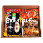 Snack & beer box