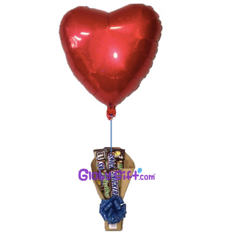 Chocolate bouquet ramo chocolates globo amor Monterrey