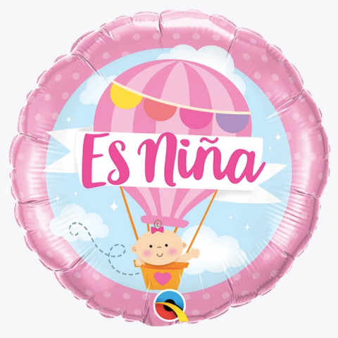 Es niña hot air balloon