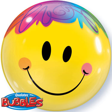Globo burbuja smiley face