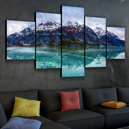 White Mountains Canvas Set