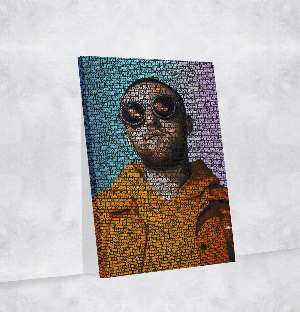 Mac Miller Lyrical Canvas | Song Lyrics Canvas Art | Custom Music Canvas  Art | Hip Hop Art
