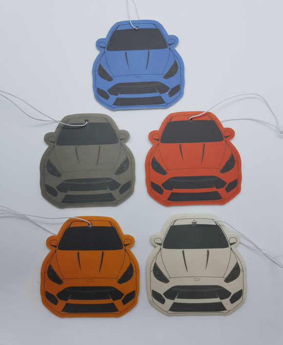 MK3 Focus RS Air Fresheners Set of 8