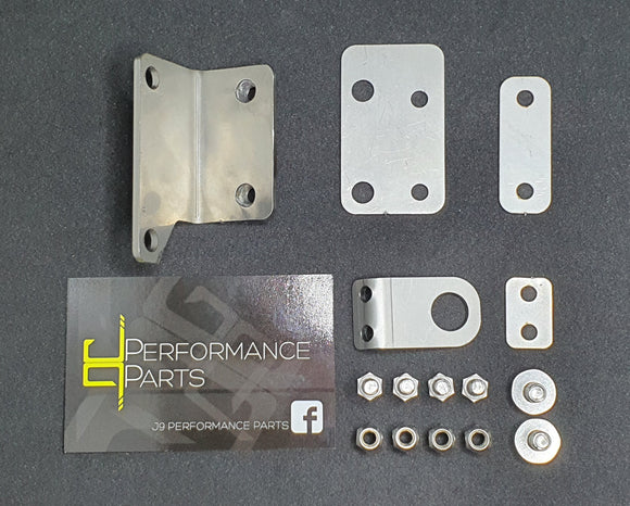 Mk1 Focus RS Turbo Heatshield Bracket Kit in Stainless Steel