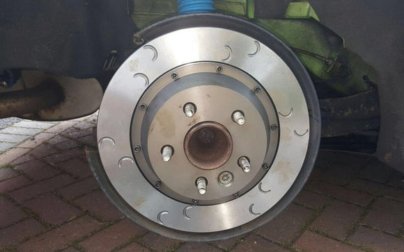 Focus RS MK2 2 Piece Rear Brake Discs with Bells