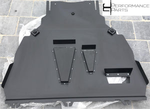 3mm Aluminium Undertray Skidplate Upgrade with NACA Style Ducts