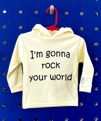 Rock Your World Long Sleeve Hoodie