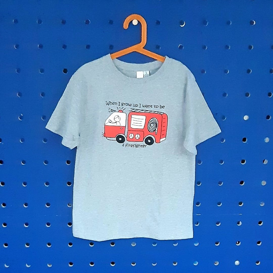 Firefighter T-Shirt  **Sizes 8 to 14**