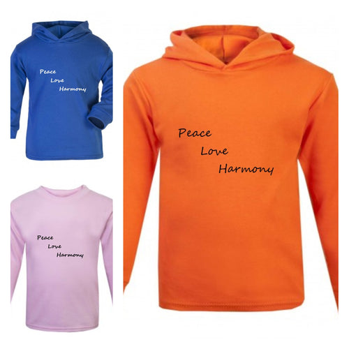 Peace Love Harmony Tops