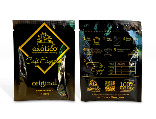Original Drip Coffee Pouches: Cafe Especial