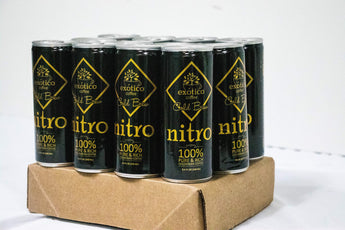 Exótico Cold Brew: Nitro Coffee (12-Pack)