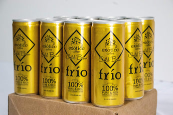 Exótico Cold Brew: Frio Coffee (12-Pack)
