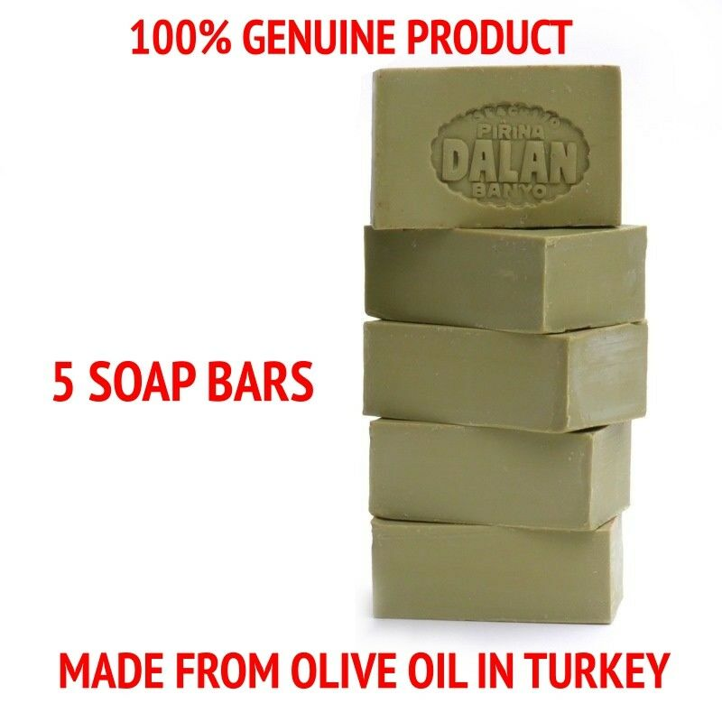 Individual Natural 100% Pure Olive Oil Soap Dalan Turkish Bath Turkey Soap Bars