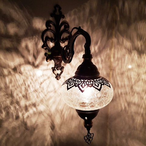 Ottoman Style Turkish Single Wall Lamp