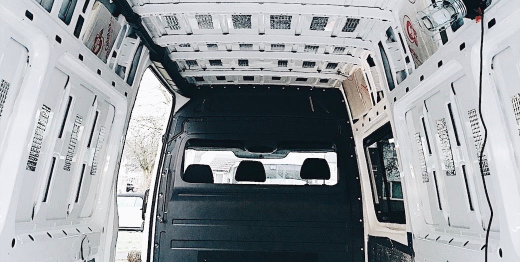 How to soundproof and clean a campervan