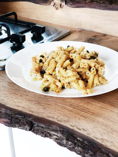 Omnia Oven Recipe - Macaroni Cheese