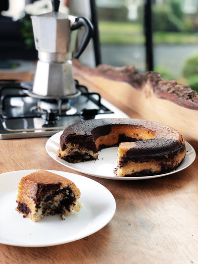 Omnia Oven Recipe - Chocolate Marble Cake
