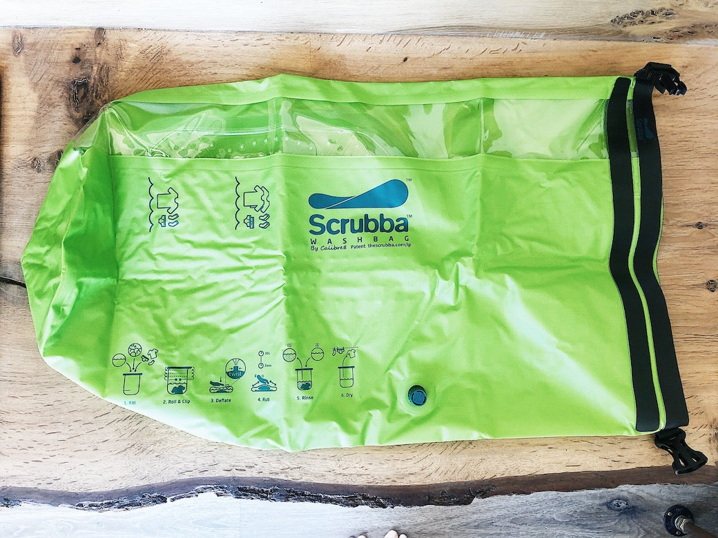 What is the Scrubba Wash bag?