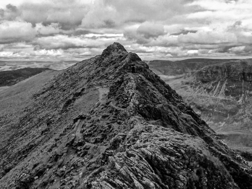 Striding edge grade 1 scramble