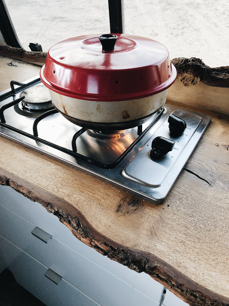 Omnia stove top cooker which can be used for baking delicious cakes